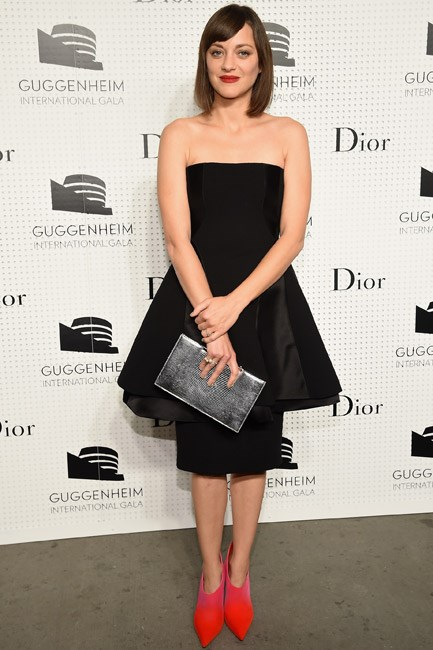 Marion Cotillard in Dior was the epitome of peplum perfection.