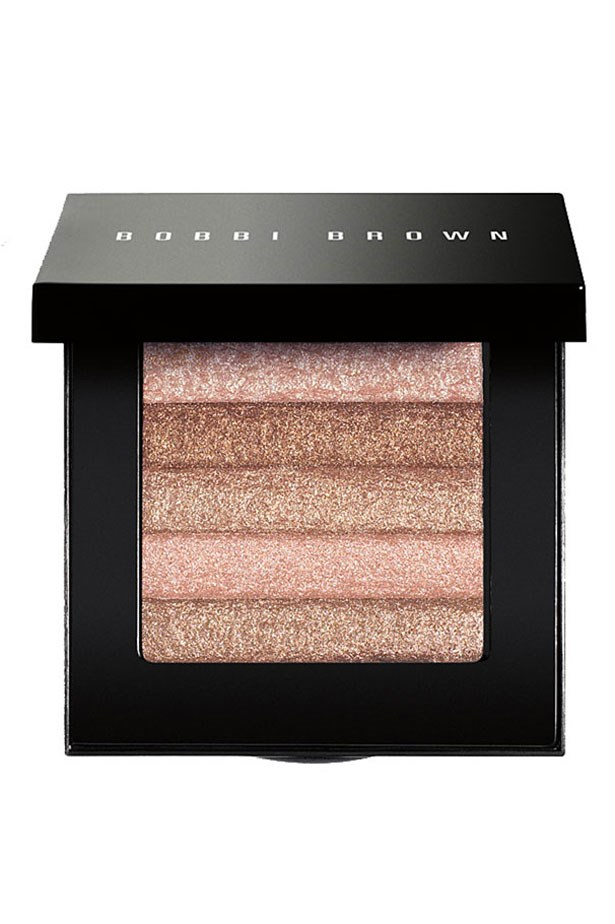 "<p><strong>Features Editor: Vanessa Lawrence</strong></p> <p>The Bobbi Brown Shimmer Brick Compact in Pink Quartz gives my cheekbones a dewy glow and helps me fake sleep, even when I've only had a few hours.</p> <p>Shimmer Brick in Pink Quartz, $72, Bobbi Brown, <a href=""http://www.bobbibrown.com.au/"">bobbibrown.com.au</a></p>"