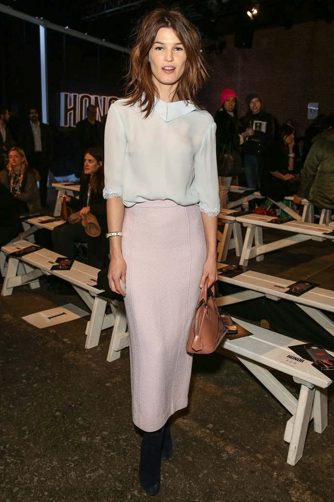<strong>The designer darling: Hanneli Mustaparta</strong><br> Where: New York Fashion Week