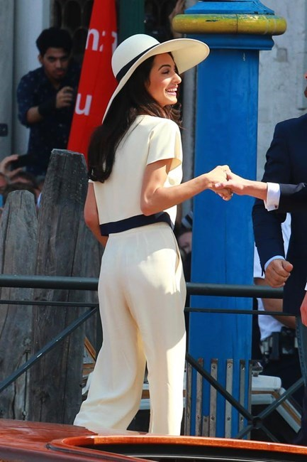 <strong>Wedding belle</strong> <br>Amal Alamuddin's wedding to George Clooney gives us a new appreciation for sun hats and cream slacks. A new style icon is born.<br/>