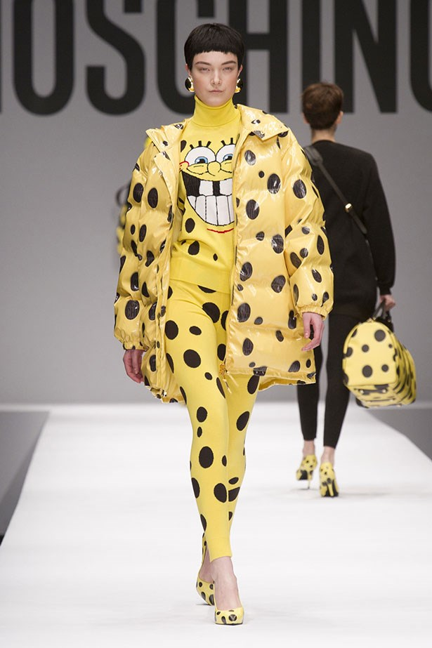<strong>Spot on</strong> <br>Pop-culture vulture Jeremy Scott makes his mark at Moschino, referencing everything from fast food to cartoon characters in his crowd-pleasing debut as creative director. <br/>