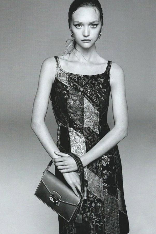 Gemma Ward lands Prada campaign