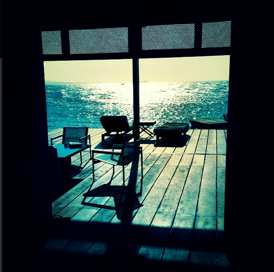@poppydelevingne woke up like this in Cartagena