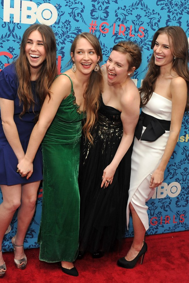 Mamet, Kirke, Dunham and Williams back in April 2012 for the season one premiere in New York.