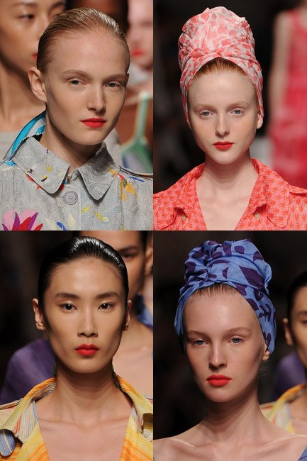 Missoni's spring/summer 2015 lipstick was suitably summery.