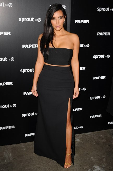<strong>Kim Kardashian</strong><br> First step: don a dress with a split. Second step: one leg out.