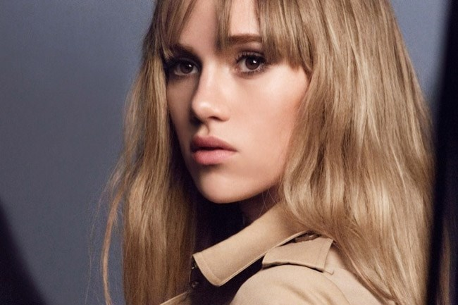 """<strong>Suki Waterhouse </strong><br> The Brit It girl – and face of Burberry – has a cameo in <em>Insurgence</em> and a starring spot in <em>Pride and Prejudice and Zombies</em> (what a title!) this year. 'When I started modelling, I was young and sort of a bit reckless – I wanted to make money and didn't really care about anything else,"""" she has said. """"Now I'm far more settled, and acting has become really important to me again."""" Watch this face.<br><br> <em>Image: Modelling for Burberry Beauty</em>"""