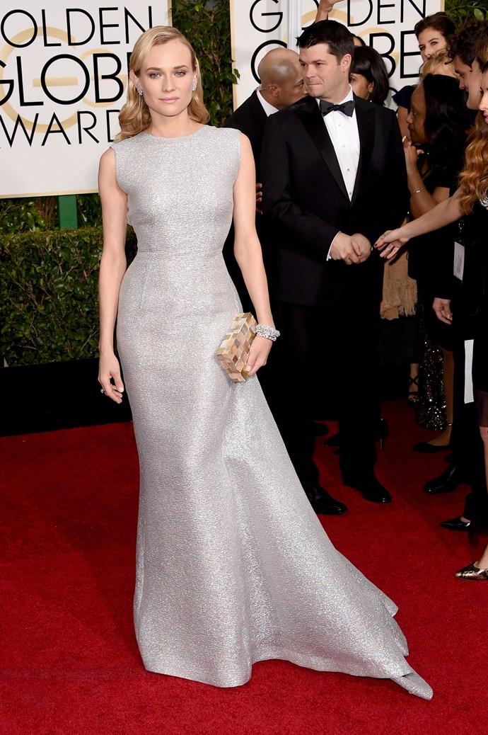 Diane Kruger wearing Emilia Wickstead