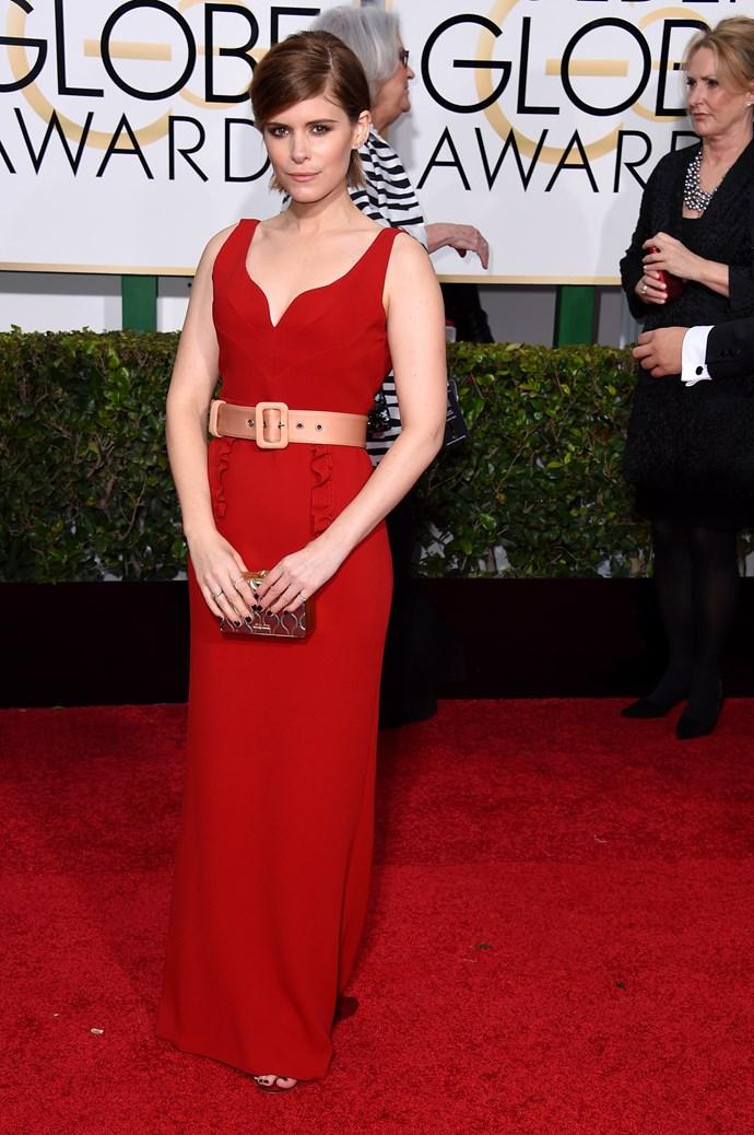 Kate Mara wearing Miu Miu