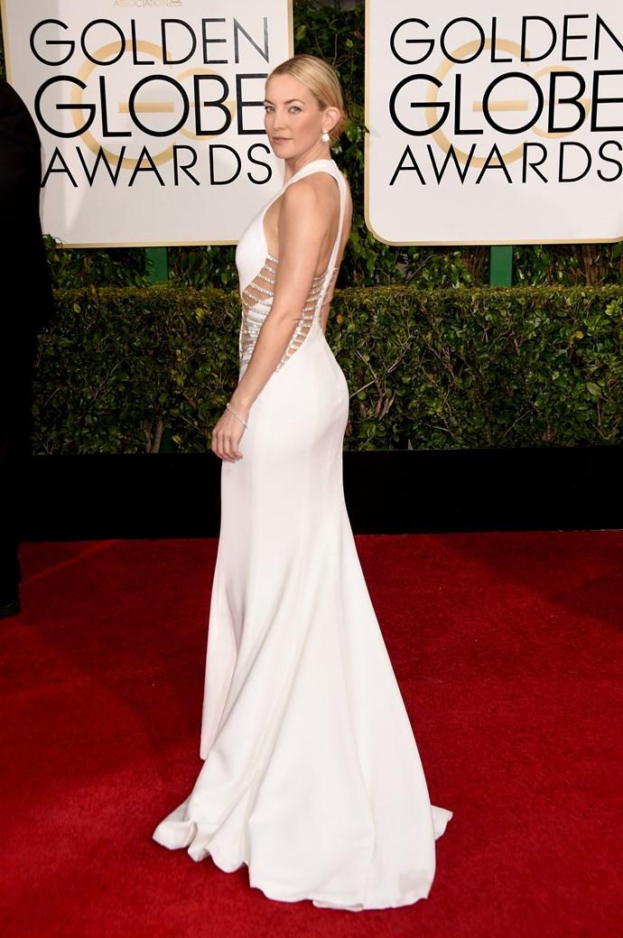Kate Hudson wearing Versace