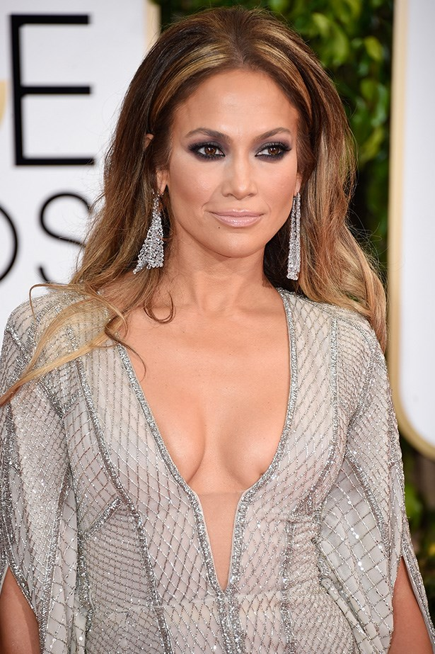 """Jennifer Lopez <br><br> """"I really would have liked to see J-Lo's hair up. It's a lot of hair and a lot of dress, simpler hair less would have had more impact,"""" Brad Ngata, <a href=""""http://www.bradngata.com.au/ """">BradNgata.com.au </a>"""