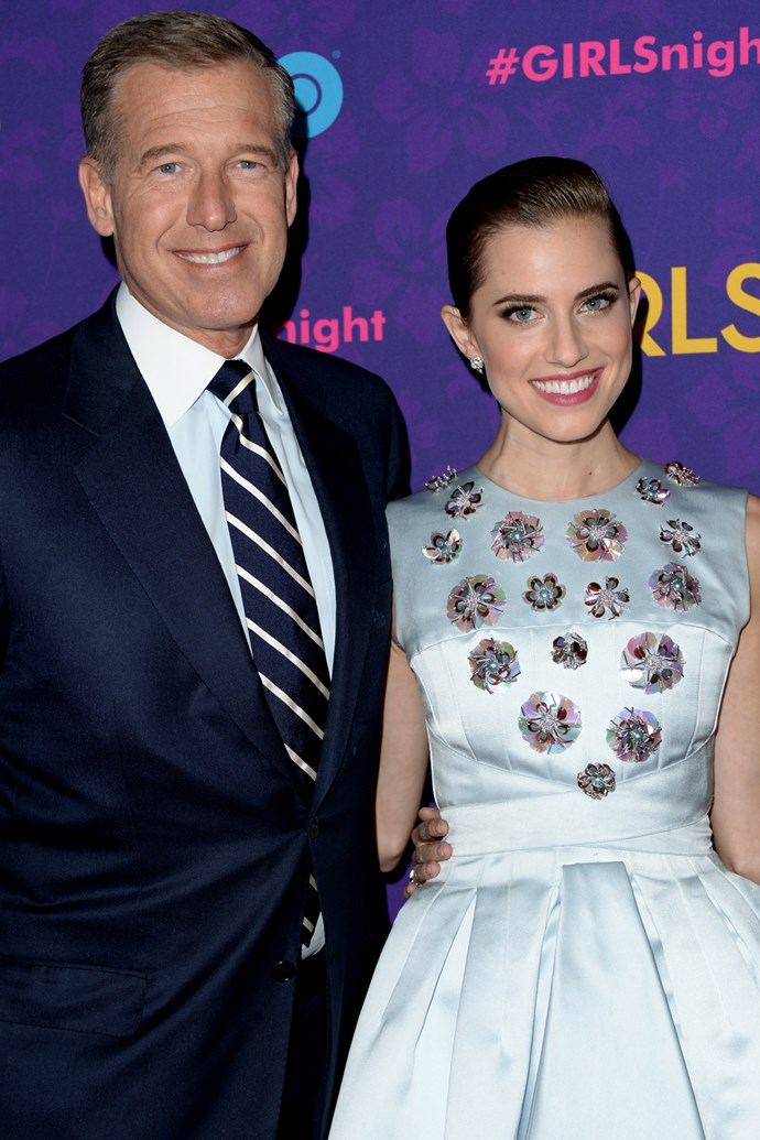 Allison Williams and her dad