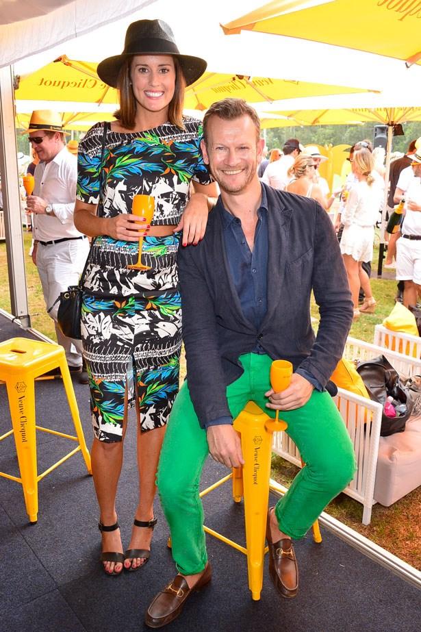 Liz Dixon and Damien Woolnough