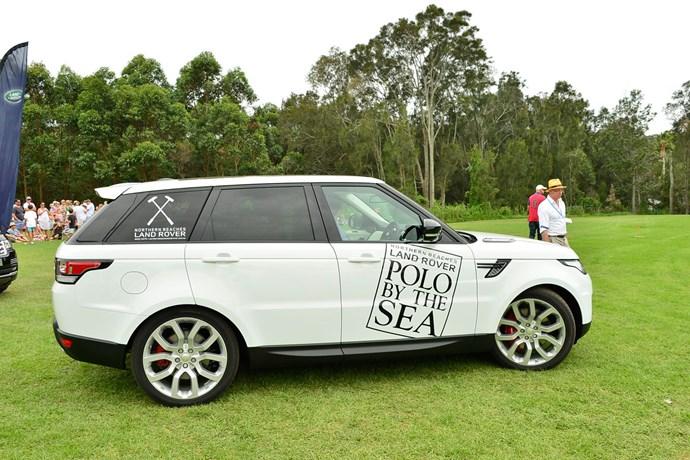The customised Range Rover