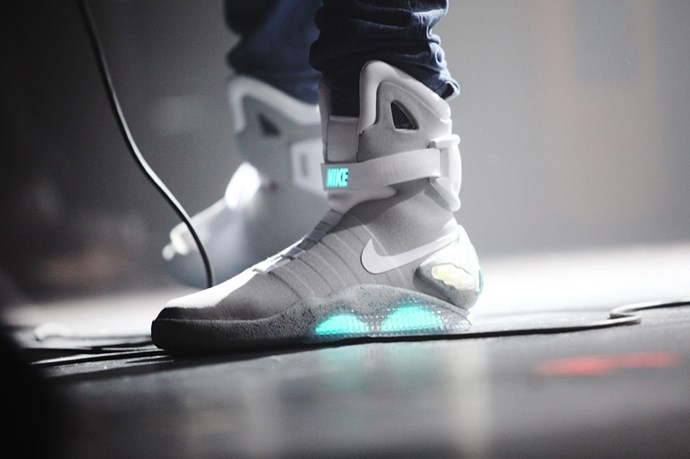 Nike's Back to the Future self-lacing sneakers