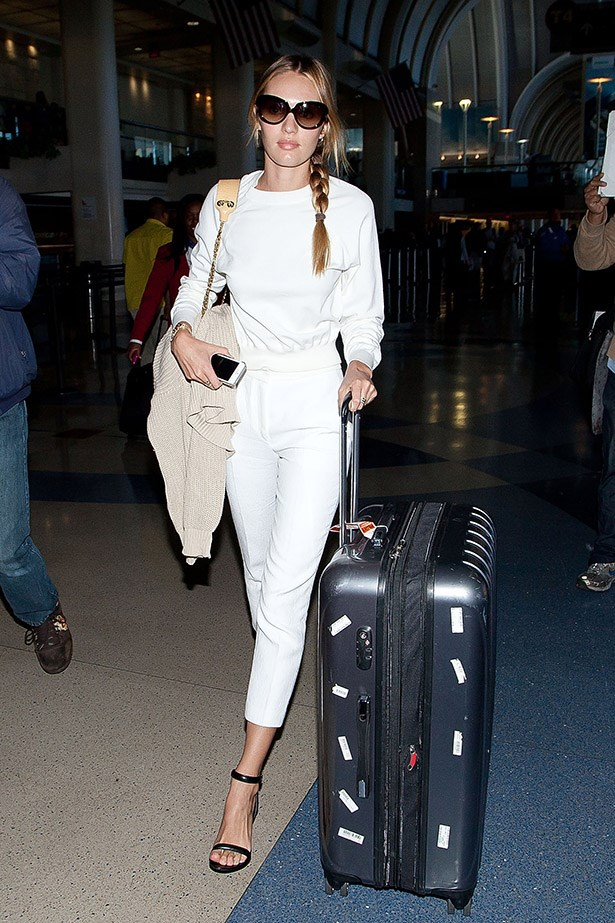 Candice Swanepoel leaves LA