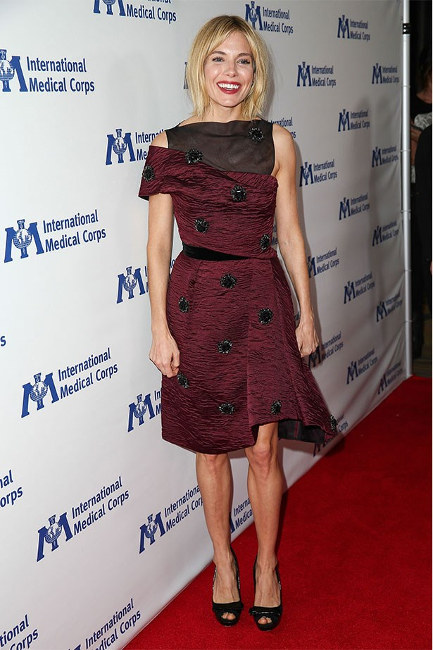 In Erdem at the International Medical Corps' Annual Awards Dinner Ceremony