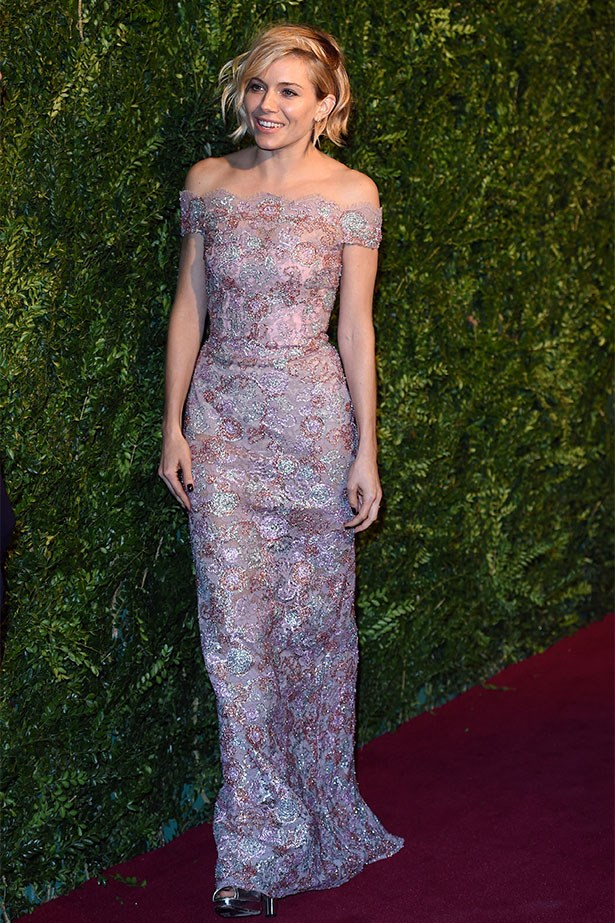 In Burberry at the London Evening Standard Theatre Awards
