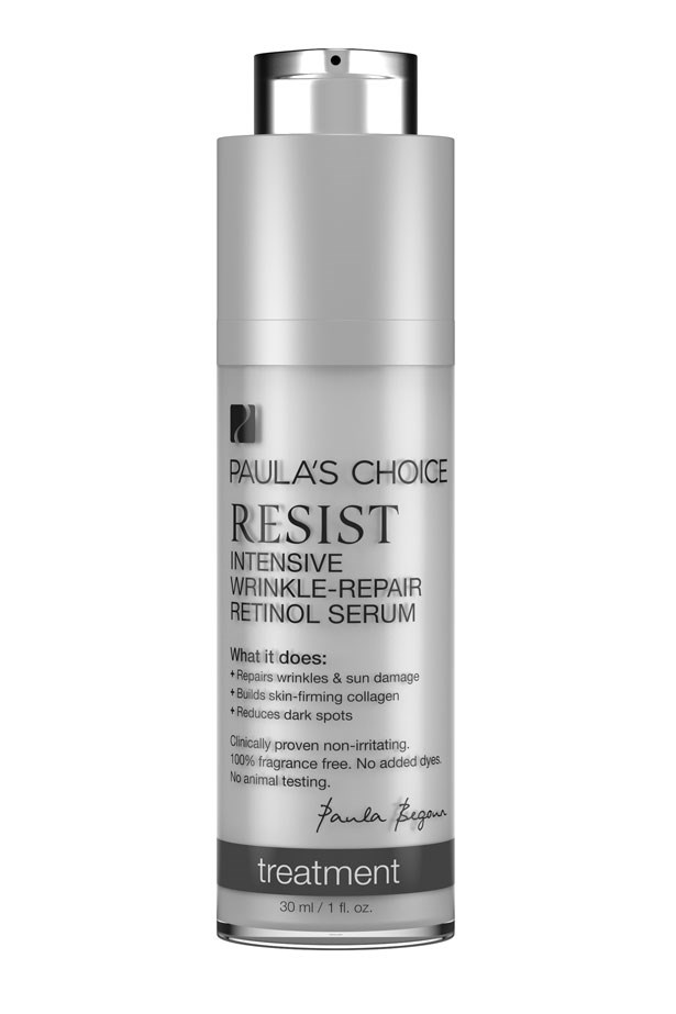 "Resist Intensive Wrinkle-Repair Retinol Serum, $52, Paula's Choice, <a href=""http://www.paulaschoice.com.au/"">paulaschoice.com.au</a>"