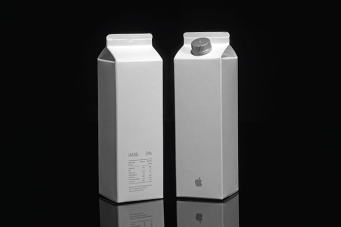 <strong>iMilk by Apple</strong><br> Making calcium cool since 2015.