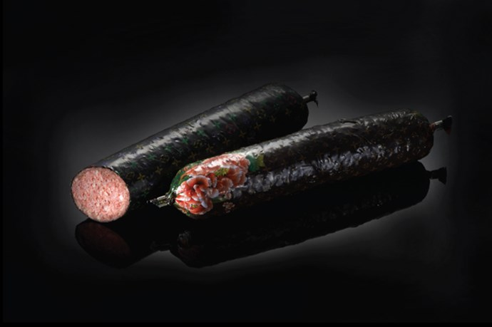 <strong>Salami by Louis Vuitton</strong><br> Nicolas Ghesquière-approved.