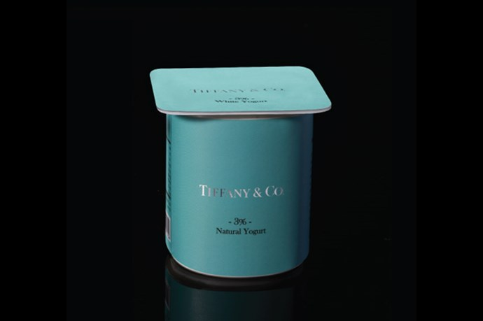 <strong>Yoghurt by Tiffany & Co.</strong><br> The bacterial fermentation of milk made chic.