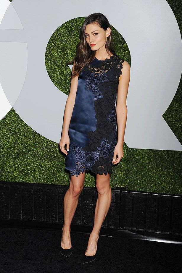 Phoebe Tonkin at the GQ Men of the Year Party last year, wearing Phillip Lim.