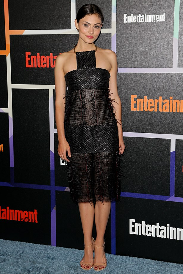 Phoebe wearing Calvin Klein at Entertainment Weekly's Annual Comic-Con Celebration, 2014.