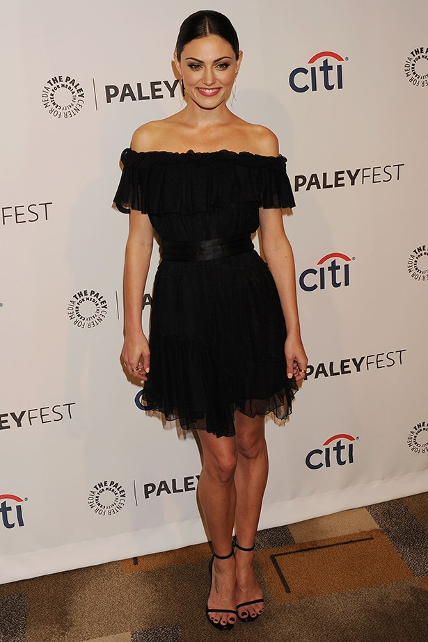 Phoebe Tonkin wearing Camilla and Marc at the Paley Media event for Vampire Diaries and The Originals last year.