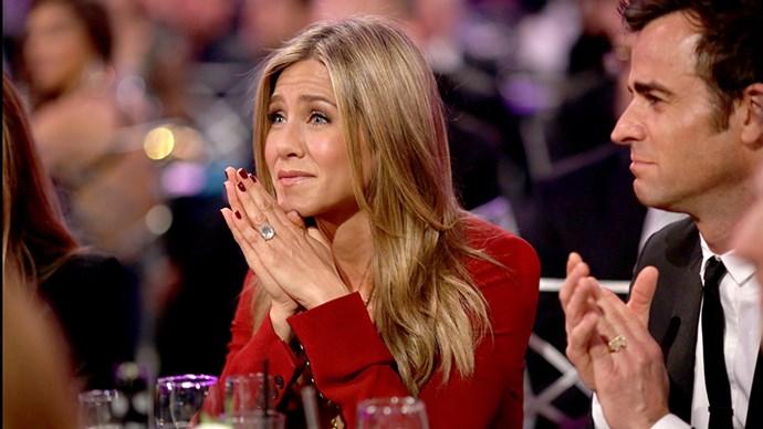 Jennifer Aniston at the 20th Annual Critics' Choice Movie Awards.