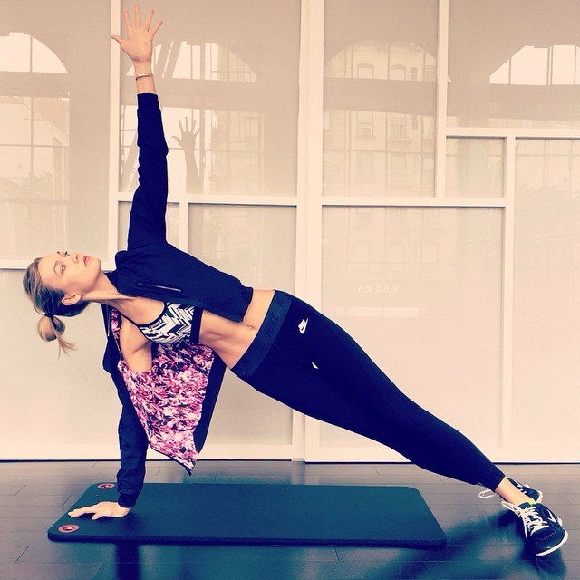 """<p>Karlie Kloss is an athlete and angel in one, so her fit physique is bound to pull you out of your running rut. An avid Instagrammer, Karlie posts frequent shots of her favourite ways to stay active, giving you an inside look at how she achieves those lean limbs and angel-worthy abs.</p> <p><a href=""""http://instagram.com/karliekloss"""">@karliekloss </a></p>"""