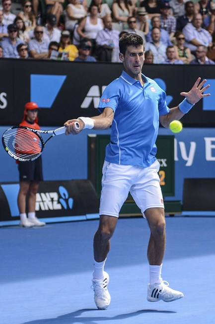 Australian open tennis Novak Djokovic