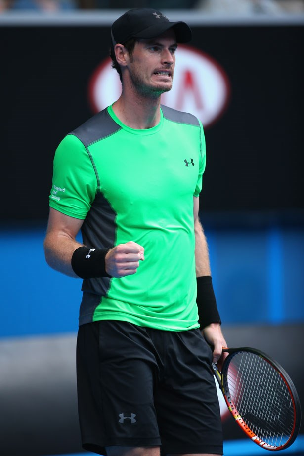Andy Murray is now sponsored by American sportswear label Under Armour.