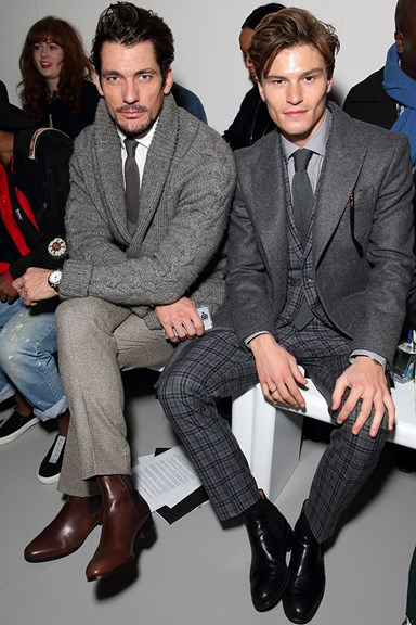 Favourite front-row moments at Men's Fashion Week