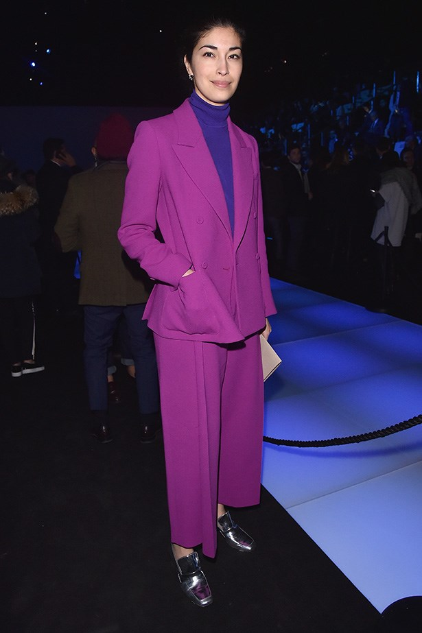 <strong>MILAN:</strong> Caroline Issa was at Emporio Armani.