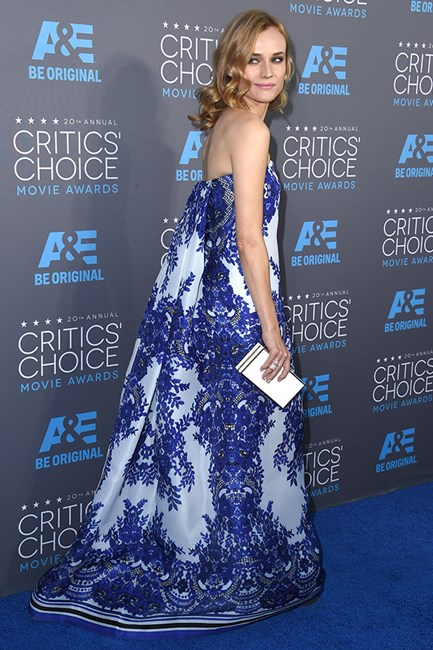 Diane Kruger at the 72nd Annual Critics' Choice Awards