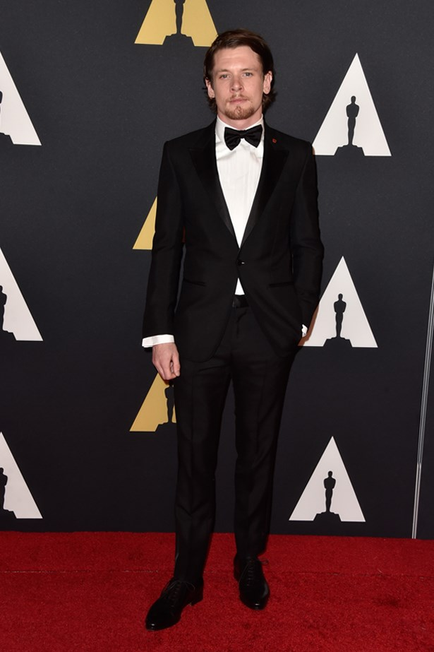Jack O'Connell at the Motion Picture Academy's 6th Annual Governors Awards, November 2014.
