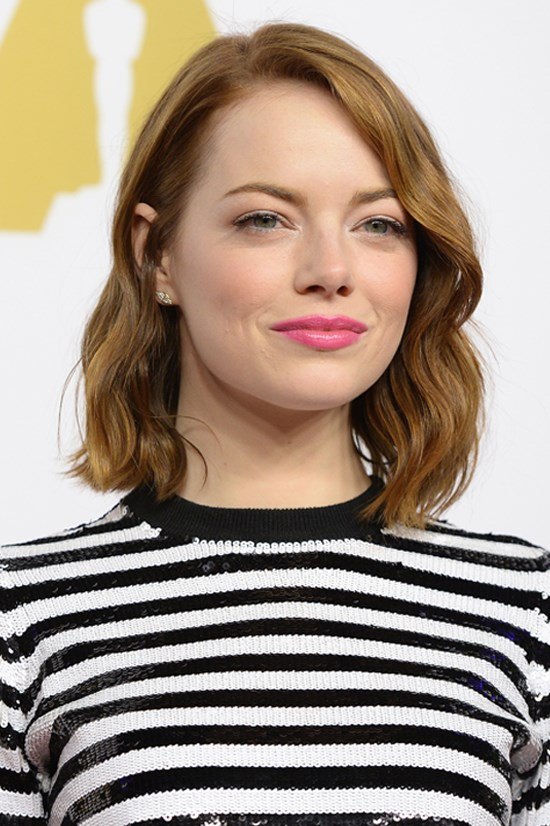 Emma Stone at the 87th Annual Academy Awards Nominees Luncheon