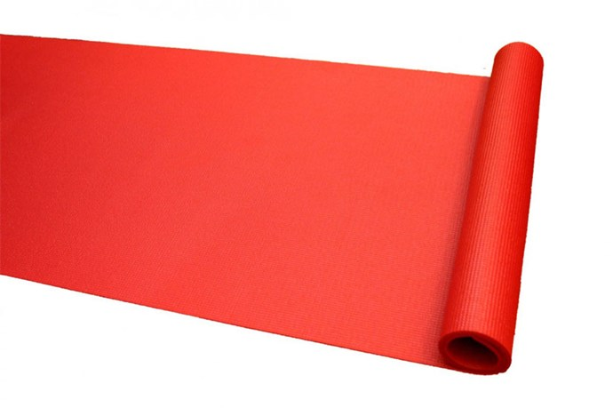 """Avoid those sore knees with the Studio Mat, the thickest mat on the Australian market, boasting a thickness of 6.4mm. Available in a vibrant red shade and priced at only $29, this mat is easy on the eyes, as well as your budget. <p> Studio Mat 4.5mm Red, $29, Divine Goddess, <a href=""""http://www.divinegoddess.net/"""">divinegoddess.ne</a>t</p>"""