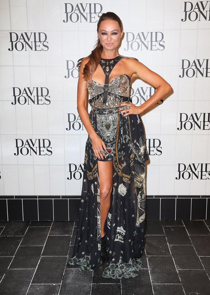 Camilla Franks at David Jones' AW15 runway show in Sydney