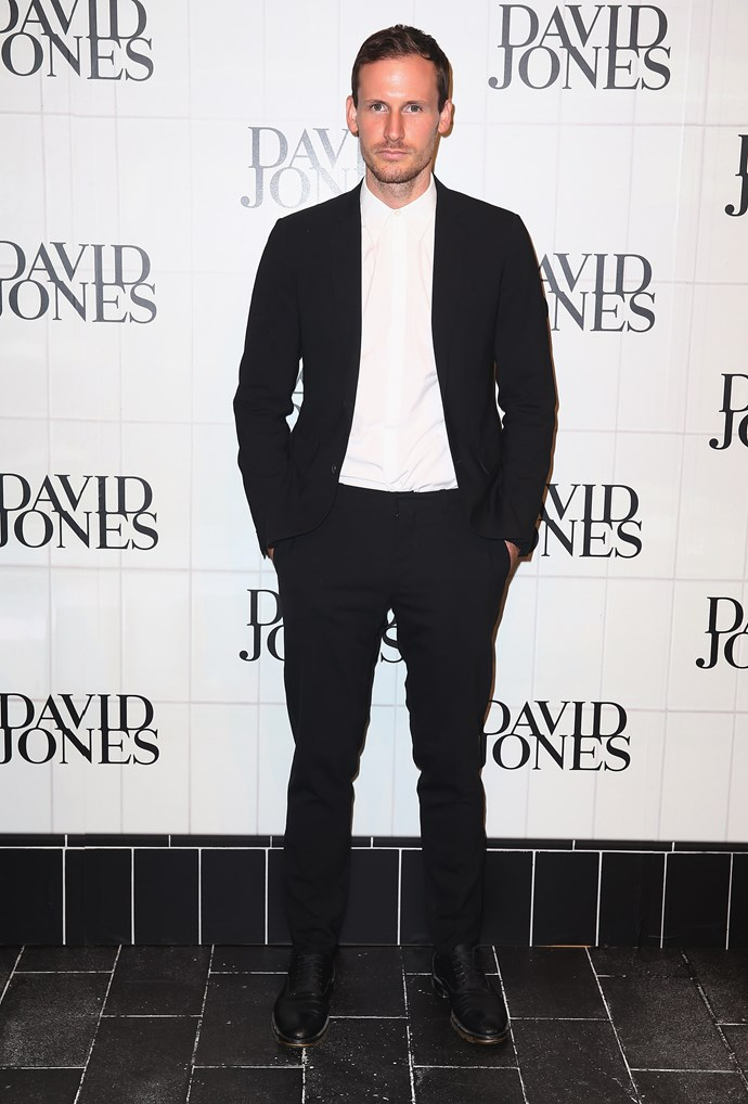 Dion Lee at the David Jones AW15 runway show in Sydney