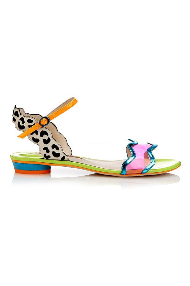 "Shoes, $442, Sophia Webster, <a href=""http://www.matchesfashion.com/product/1016809 "">matchesfashion.com</a>"
