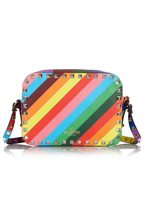 """Bag, $1804, Valentino, <a href=""""http://www.net-a-porter.com/au/en/product/508108 """">net-a-porter.com</a>"""
