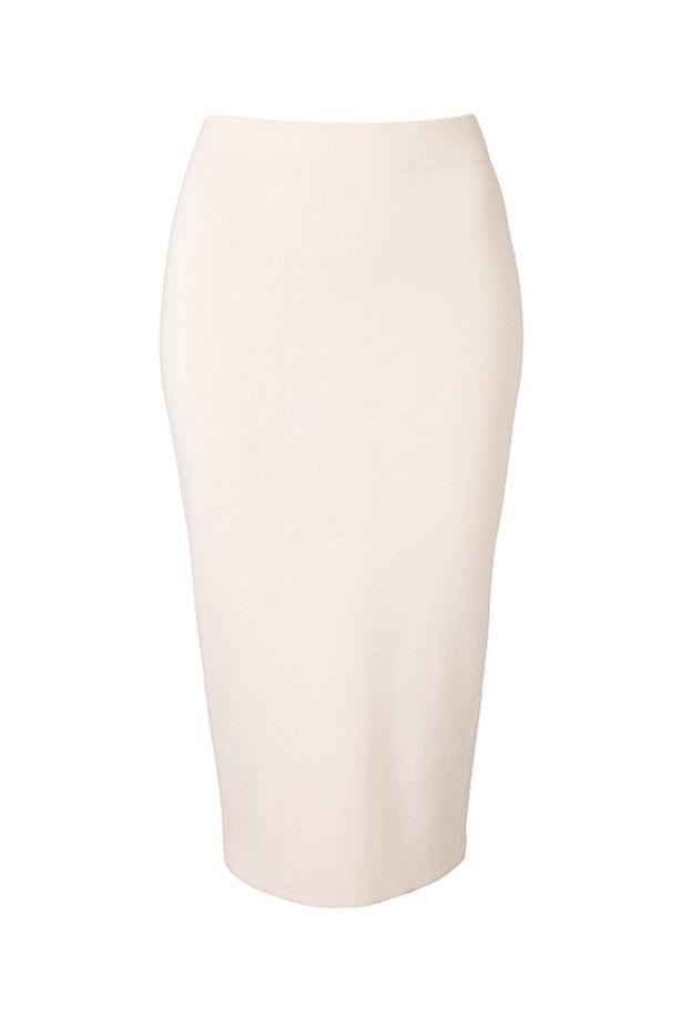 "Skirt, $99.95, Witchery, <a href=""http://www.witchery.com.au/shop/new-in/woman/60177672/Knit-Tube-Skirt.html"">witchery.com.au</a>"