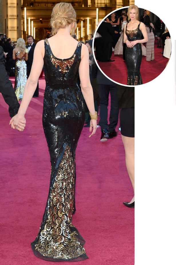 <p>NICOLE KIDMAN</p> <p>In L'Wren Scott at the 2013 Academy Awards</p>