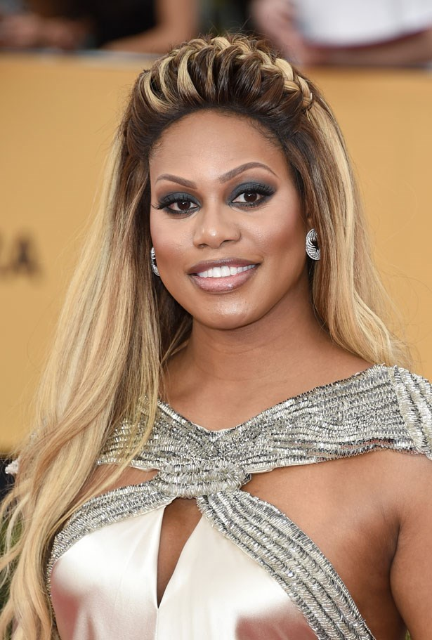 <p><strong>Laverne Cox</strong></p> <p>The <em>Orange is the New Black</em> star's voluminous look took the headband braid to new heights at the SAG Awards.</p>