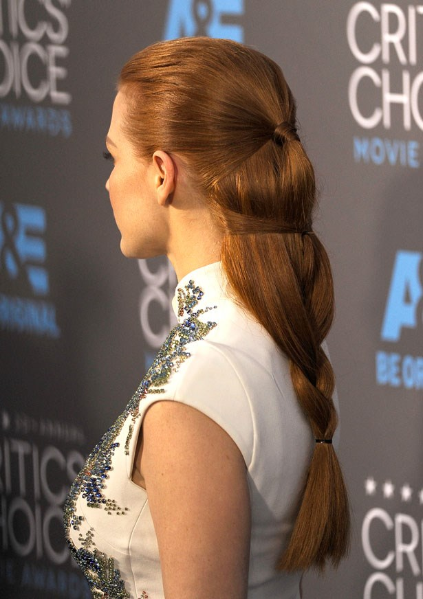 <p><strong>Jessica Chastain</strong></p> <p>Jessica Chastain's braid at the Critics' Choice Awards was so unique there isn't even a name for the style yet.</p>