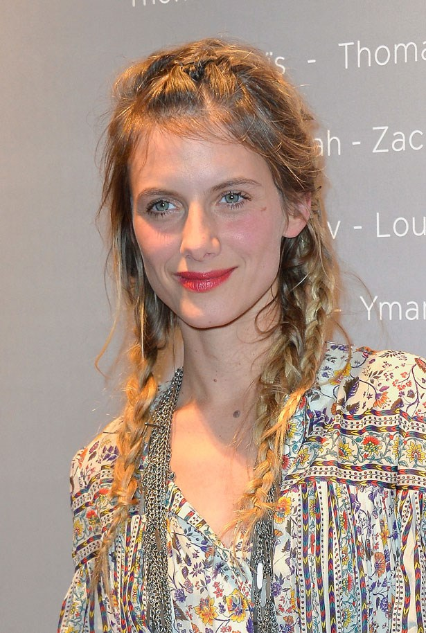 <p><strong>Mélanie Laurent</strong></p> <p>With her tousled pigtail braids, the French actress looked every part the Bohemian beauty at a party in Paris.</p>