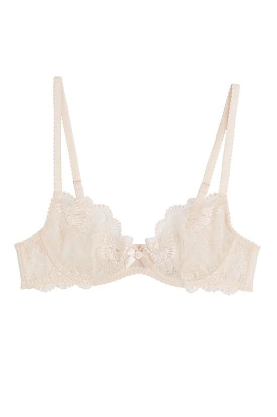 Lace bra, $87, L'Agent by Agent Provocateur, stylebop.com