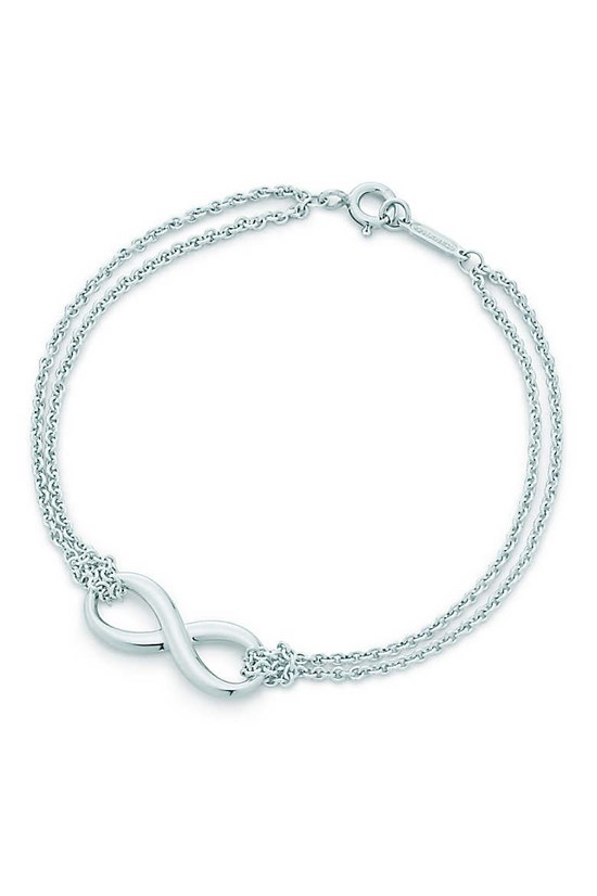 Infinity bracelet, $245, Tiffany & Co, tiffany.com.au